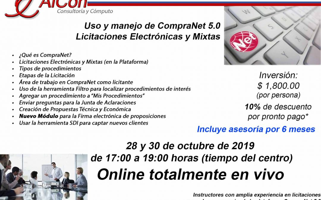 Curso Online de CompraNet 5.0
