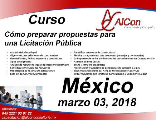 Curso Como Preparar Propuestas México