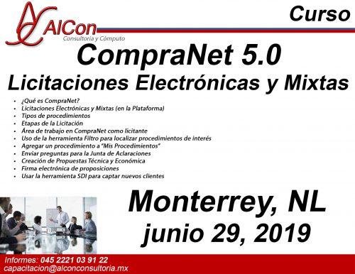 Curso de CompraNet 5.0, Monterrey AlCon Consultoría y Cómputo Arcadio Alonso Sánchez