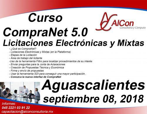 Curso CompraNet 5.0 Aguascalientes