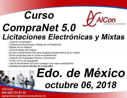 Curso CompraNet 5.0Estado de México