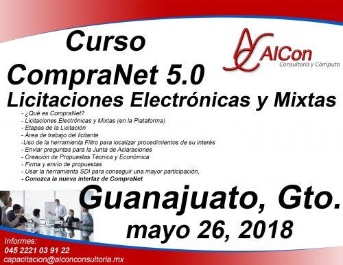 Curso CompraNet 5.0 Guanajuato