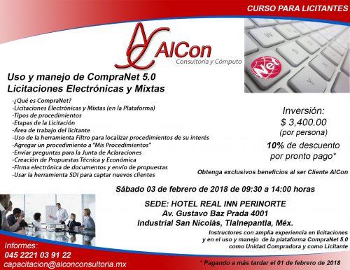 Curso CompraNet 5.0, México
