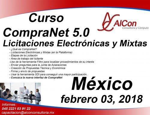 Curso CompraNet 5.0 México