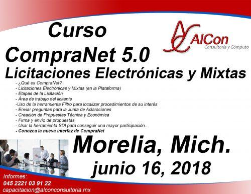 Curso CompraNet 5.0 Michoacán