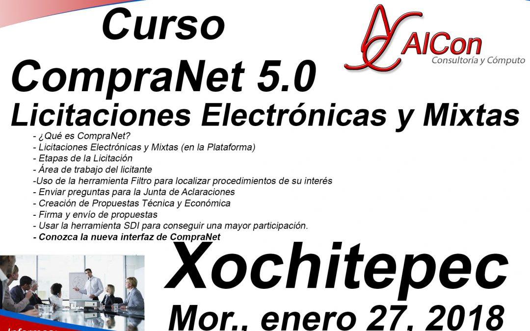 Curso de CompraNet 5.0, Xochitepec