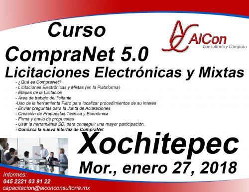 Curso CompraNet Morelos