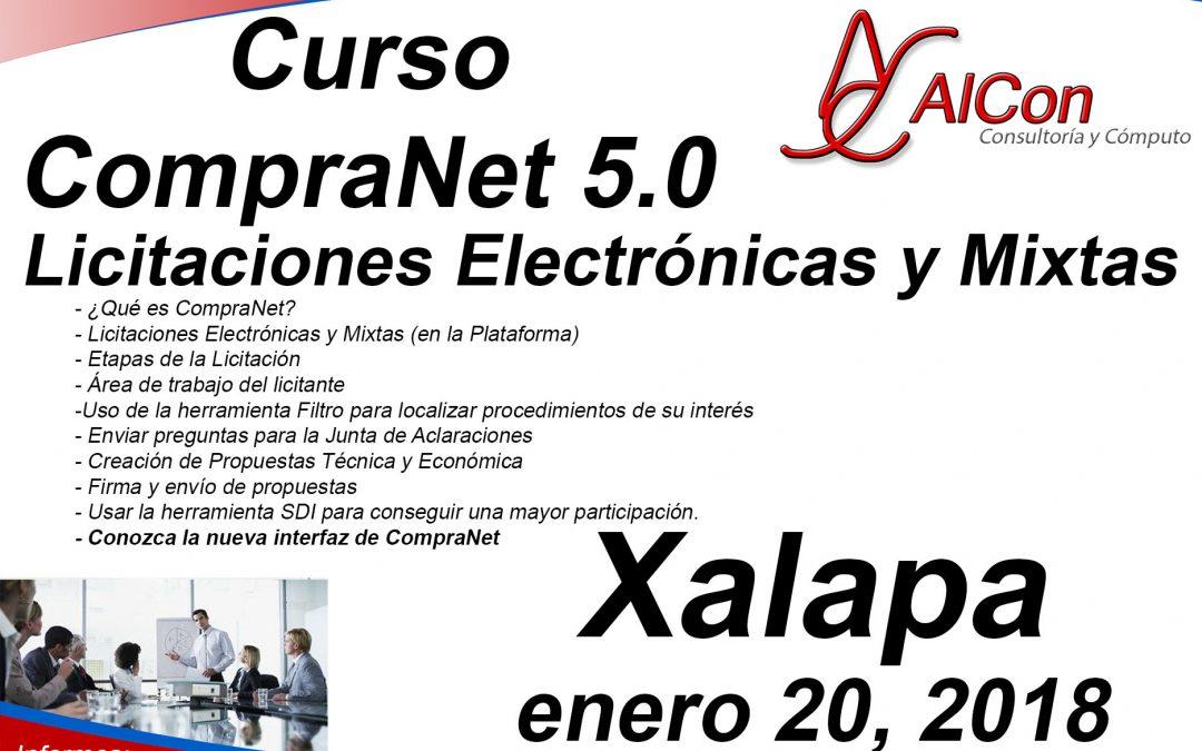 Curso de CompraNet 5.0 Xalapa