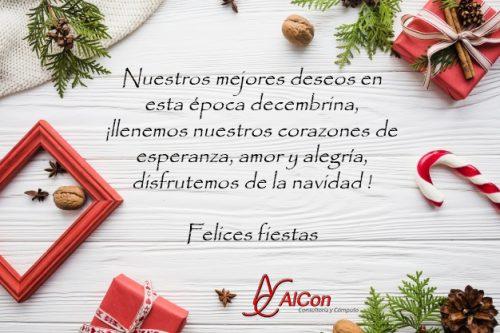 Feliz Navidad 2018 AlCon Consultoría y Cómputo